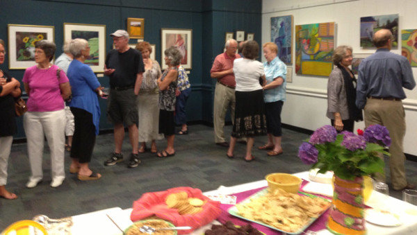 NWA Exhibit Reception