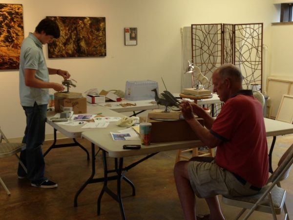 Sculpture Workshop with VA Artist Robyn Ryan