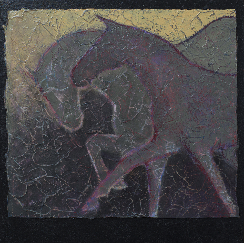 Gallop I - Acrylic Layers Painting by Robyn Ryan