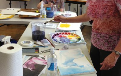 Mission Accomplished!  Watercolor Workshop went GREAT!