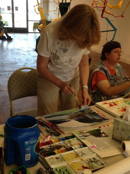 VEAA Watercolor Workshop with Robyn Ryan