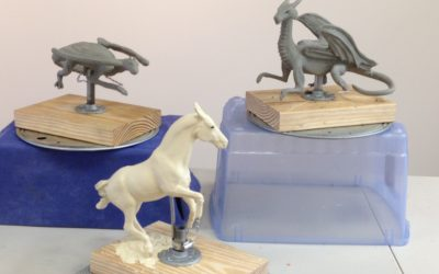 August Sculpture Workshop – The Dragon Riders!