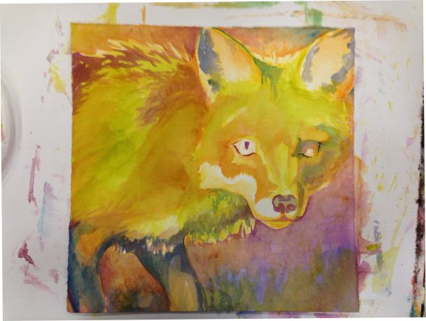Robyn Ryan Fox underpainting