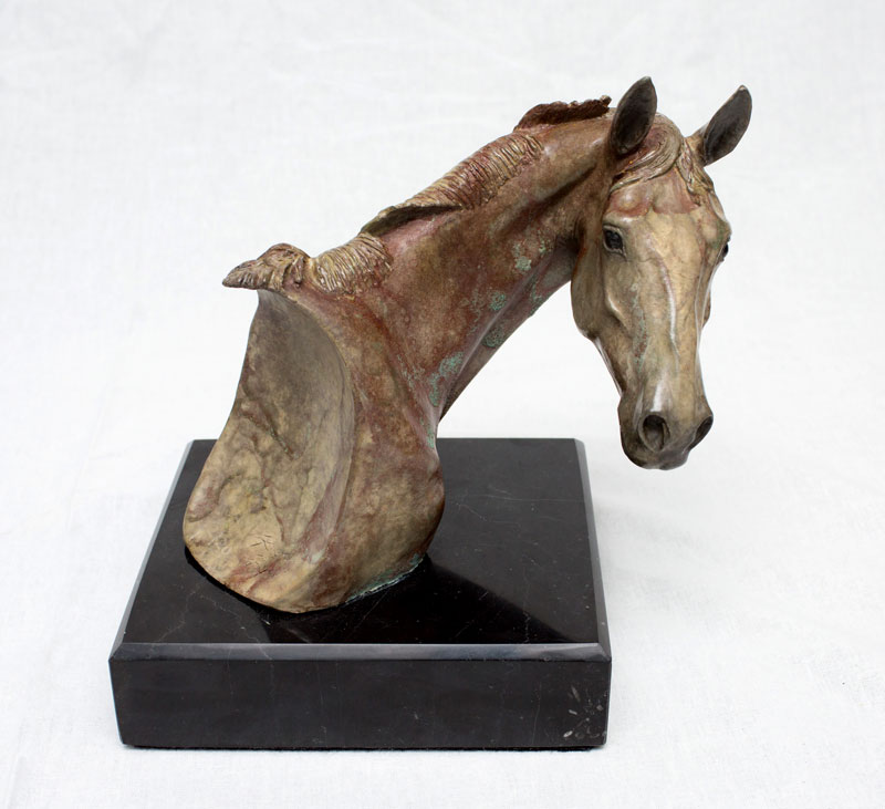 """Turnabout #2 of 20"" Bronze by Artist Robyn Ryana"