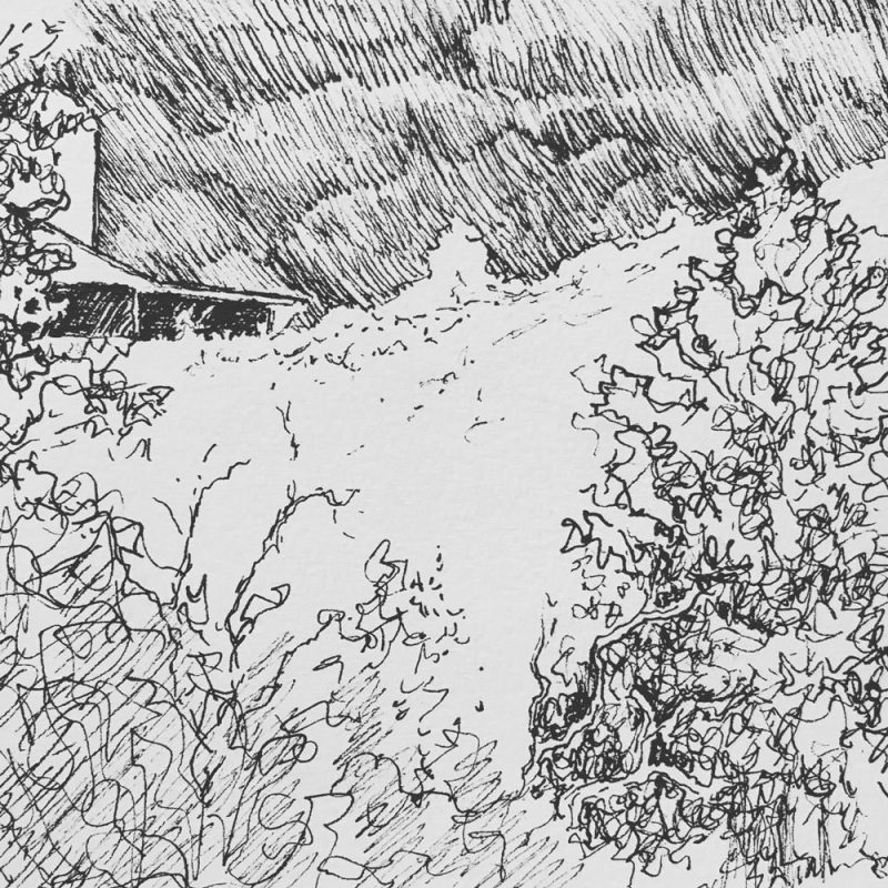 Robyn Ryan Sketch Up the Hill