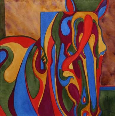 Equine Shapes ~ In and Out Equine Shapes ~ In and Out VII
