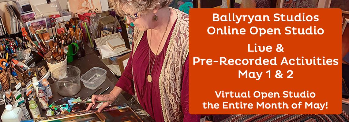 Robyn Ryan Ballyryan Studios Online Open House
